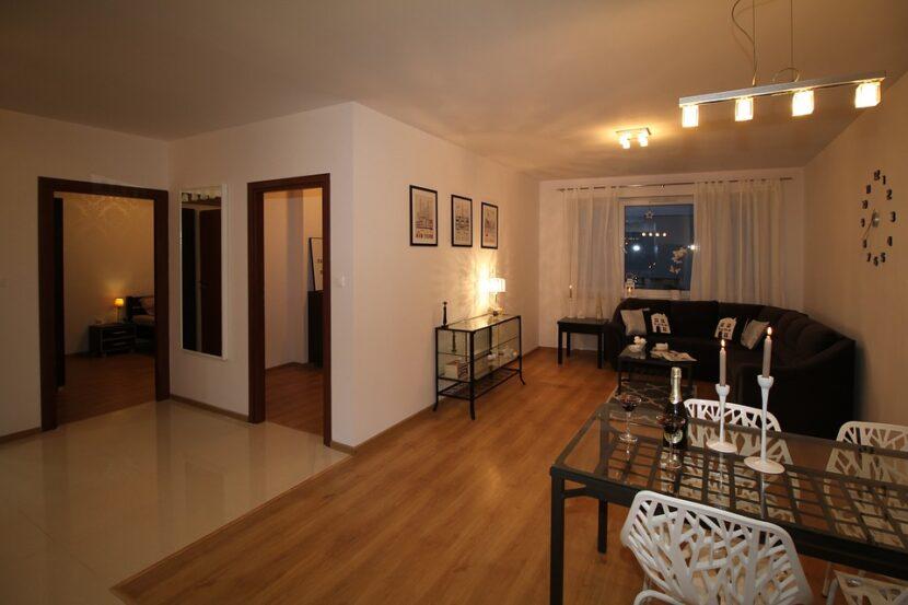 gotowe mieszkanie - wnętrze