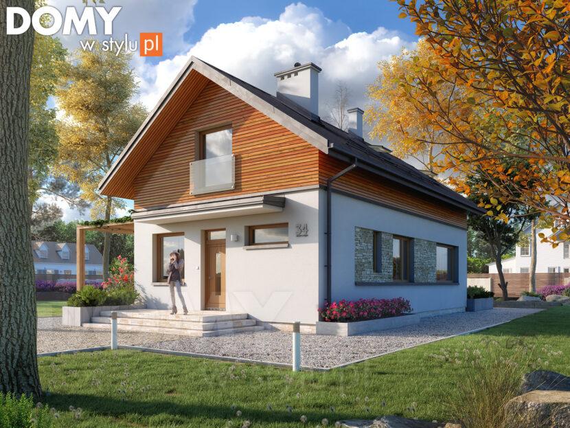 Projekty domów z poddaszem - funkcjonalne i uniwersalne.