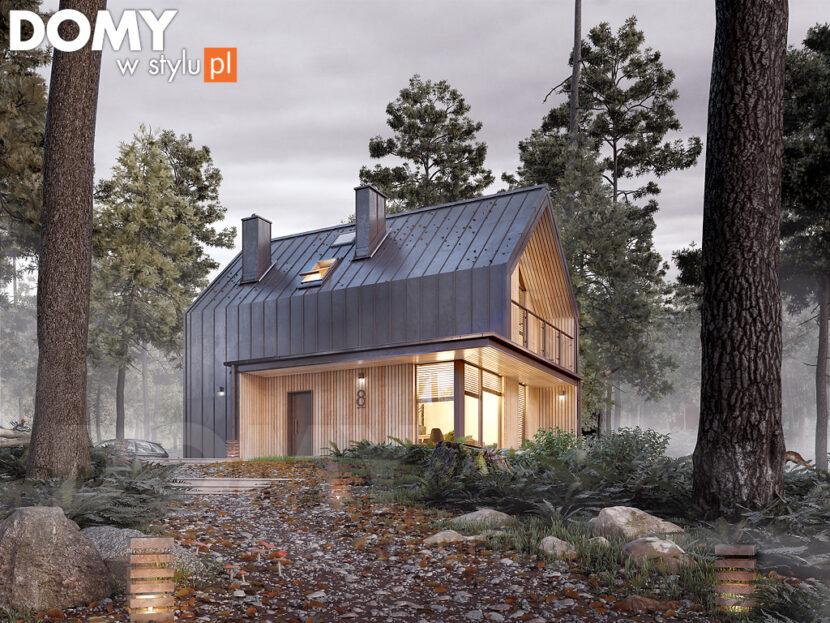 Mały dom parterowy - tani i wygodny